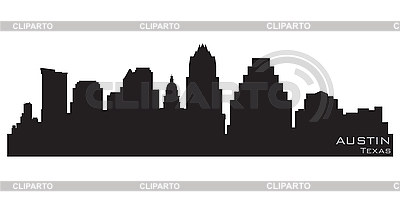 Austin skyline | Stock Vector Graphics |ID 3201339