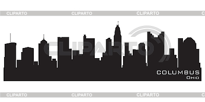Columbus skyline | Stock Vector Graphics |ID 3201352
