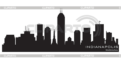 Indianapolis skyline | Stock Vector Graphics |ID 3201371