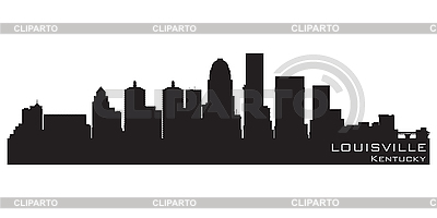 Louisville skyline | Stock Vector Graphics |ID 3201381