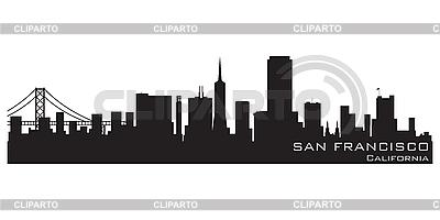 San Francisco skyline | Stock Vector Graphics |ID 3201401