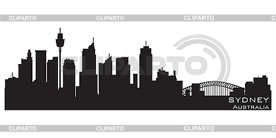 Sydney, Australia skyline. Detailed silhouette | Stock Vector Graphics |ID 3201407