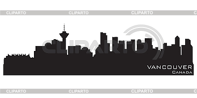 Vancouver skyline | Stock Vector Graphics |ID 3201411