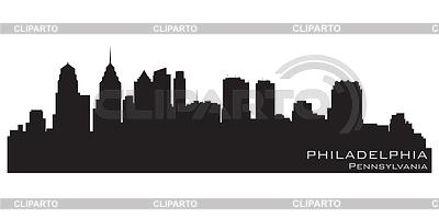 Philadelphia skyline | Stock Vector Graphics |ID 3221717