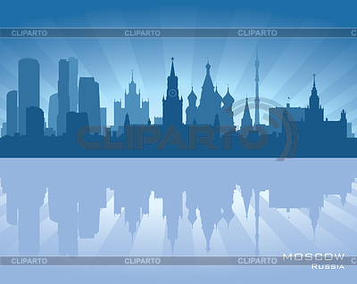 Moscow skyline | Stock Vector Graphics |ID 3319051