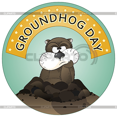 Groundhog Day | Stock Vektorgrafik |ID 3148985