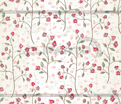 Floral seamless pattern | Stock Vector Graphics |ID 3221867