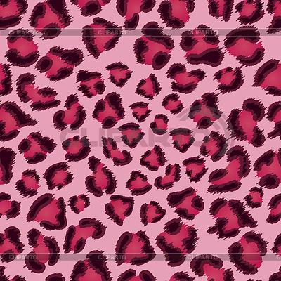 无缝粉色豹纹纹理图案 | 向量插图 |ID 3279490