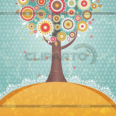 树的花 | 向量插图 |ID 3293807