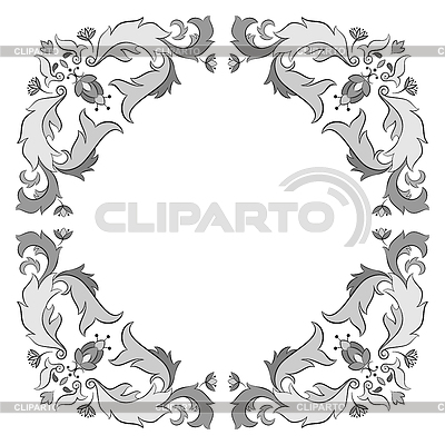 Ornate frame | Stock Vector Graphics |ID 3306200