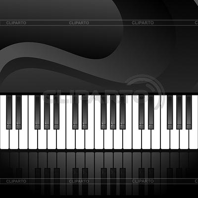 摘要背景与钢琴键 | 向量插图 |ID 3357298