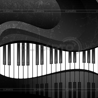 Гранж абстрактный фон с клавишами | Векторный клипарт |ID 3357304