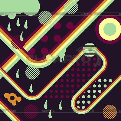Abstrakter Retro-Hintergrund | Stock Vektorgrafik |ID 3133965