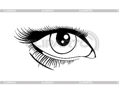 Глаз | Векторный клипарт |ID 3134013