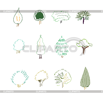 Bäume | Stock Vektorgrafik |ID 3134078
