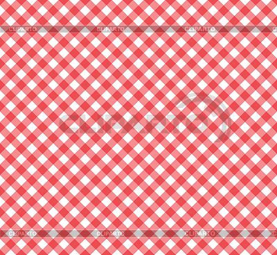 Ramka szwu w czerwone i białe | Klipart wektorowy |ID 3291377