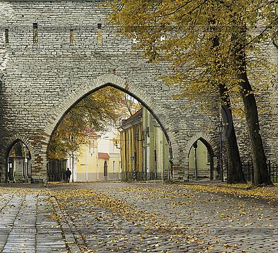 Street in Tallinn | High resolution stock photo |ID 3132286