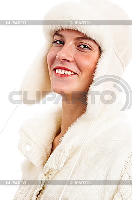 Portret młodej kobiety w zimowe ubrania | Foto stockowe wysokiej rozdzielczości |ID 3133719