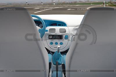 Car tuning. Interior | Foto stockowe wysokiej rozdzielczości |ID 3135695