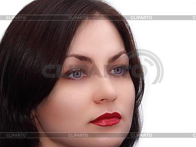 Лицо молодой девушки | Фото большого размера |ID 3140514