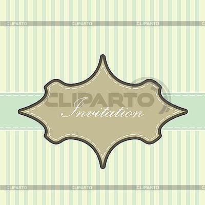 Vintagekarte mit Rahmen | Stock Vektorgrafik |ID 3141832
