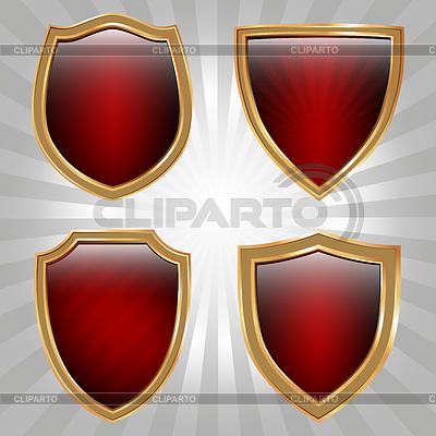 Shield set | Stock Vector Graphics |ID 3348235