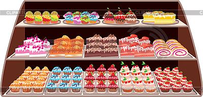 Sweet Shop | Klipart wektorowy |ID 3142624