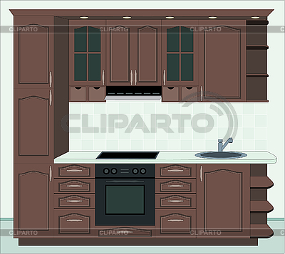 Kitchen furniture | Stock Vector Graphics |ID 3142660