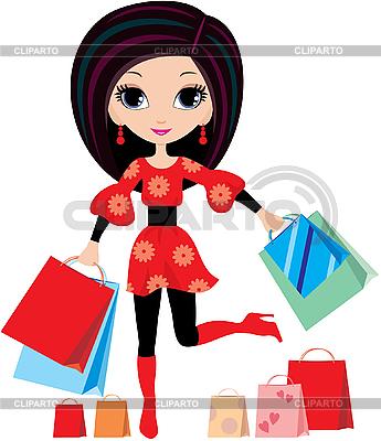 Покупка товаров | Векторный клипарт |ID 3154806