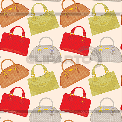 Seamless bags pattern | Stock Vector Graphics |ID 3166207
