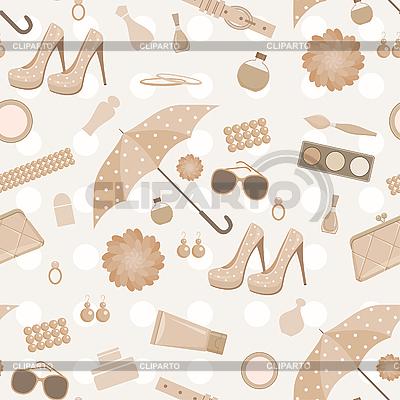 Seamless wzór mody | Klipart wektorowy |ID 3166217