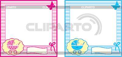 Ramka dla dziecka | Klipart wektorowy |ID 3166237