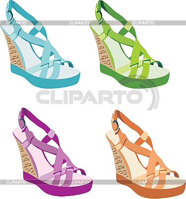 Women`s shoes | Stock Vector Graphics |ID 3167544