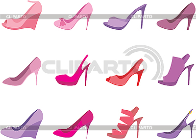 Female shoes | Stock Vector Graphics |ID 3167597
