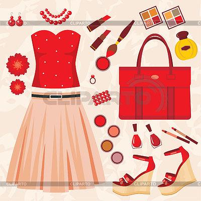 Fashion set | Stock Vector Graphics |ID 3352787