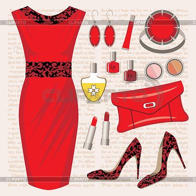 Fashion set   Stock Vector Graphics  ID 3383038