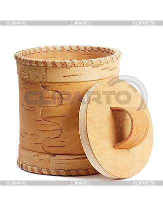 Birch bark box | High resolution stock photo |ID 3150518