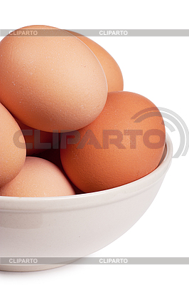 Eggs in bowl   High resolution stock photo  ID 3150560