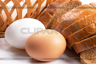 卵とスライスされたパン | 高解像度写真 |ID 3150845