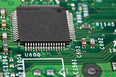 Układ elektroniczny | Foto stockowe wysokiej rozdzielczości |ID 3150858