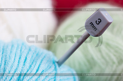 Bag with wool balls | High resolution stock photo |ID 3153487