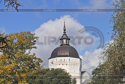 Wieża ciśnień z Ławry Trójcy w Siergijew Posad, Rosja | Foto stockowe wysokiej rozdzielczości |ID 3220349