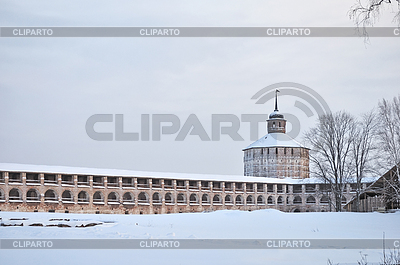 Wall and tower of Kirillo-Belozersky monastery, Russia | High resolution stock photo |ID 3221577