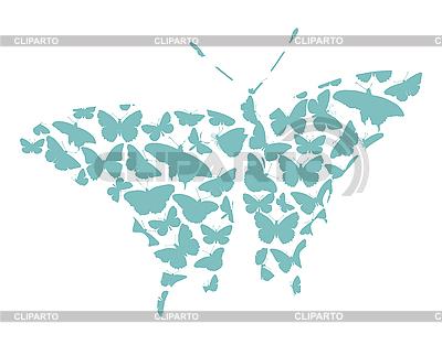 Motyl | Klipart wektorowy |ID 3142386
