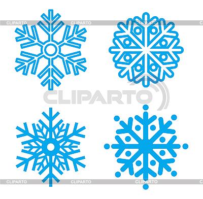 Symbol z płatki śniegu | Klipart wektorowy |ID 3144024