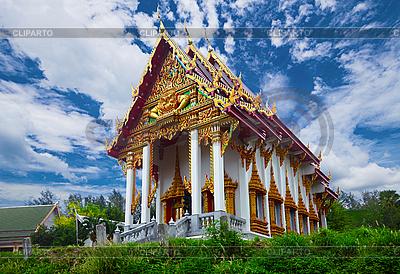 Stary buddyjskiej świątyni | Foto stockowe wysokiej rozdzielczości |ID 3144278