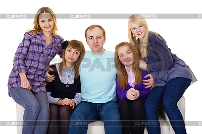 Четыре женщины и один