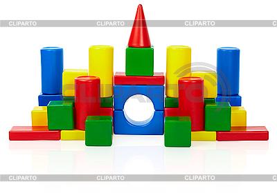 Spielzeug Burg   Foto mit hoher Auflösung  ID 3145799
