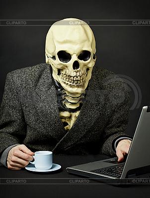 Death walks in Internet | High resolution stock photo |ID 3148195