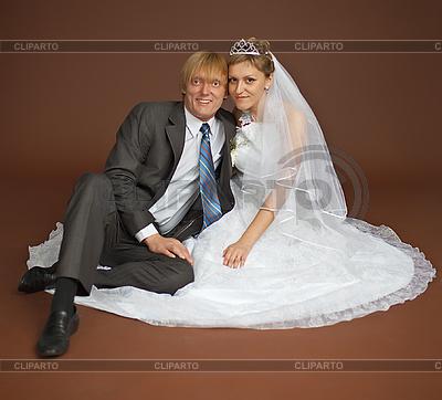 Feliz pareja de recién casados | Foto de alta resolución |ID 3148913